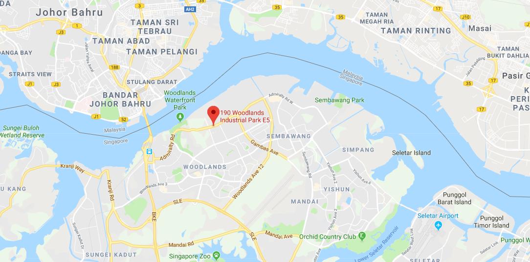 Epochemie location map